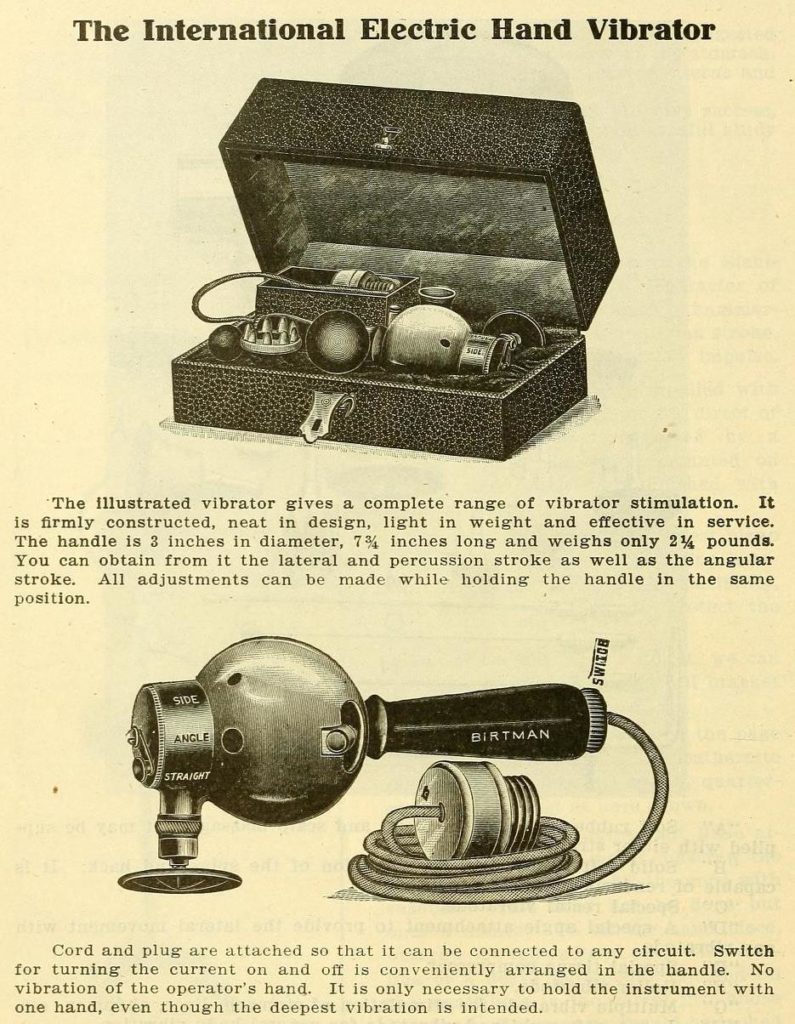 History of the Vibrator, Doctors Healing